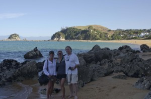 A walk on Kaiteriteri beach