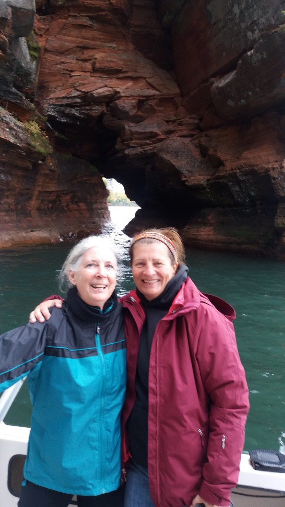 A visit to the Sea Caves